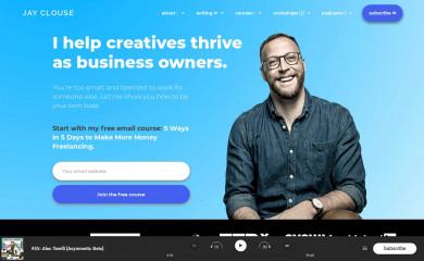 jayclouse.com screenshot