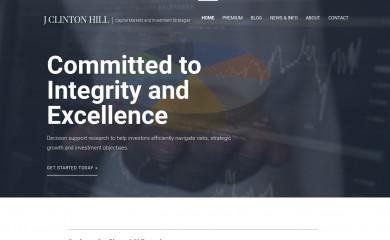 jclintonhill.com screenshot