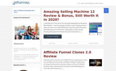 http://jefflenney.com screenshot