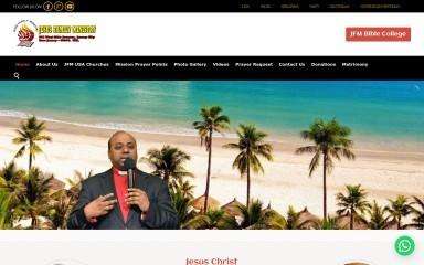jesusfamilyministry.com screenshot