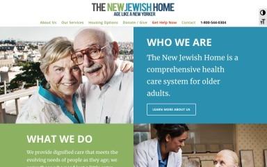 jewishhome.org screenshot