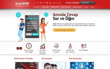 jetsms.com.tr screenshot
