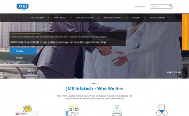 jmrinfotech.com screenshot