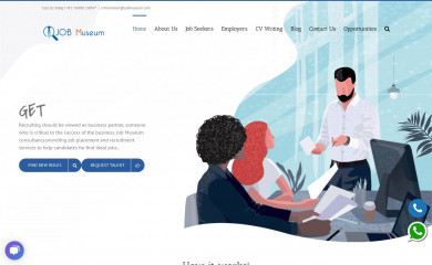 jobmuseum.com screenshot