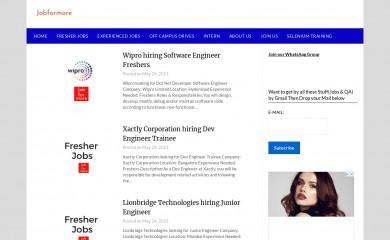 jobformore.com screenshot