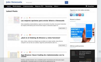 jobsvenezuela.com screenshot