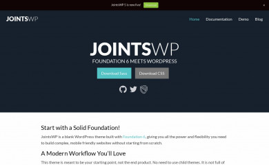 JointsWP (Sass) screenshot