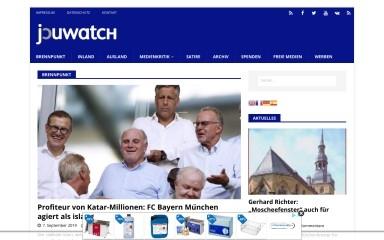 http://journalistenwatch.com screenshot