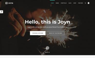 JOYN  WordPress Theme - ThemeDetect com