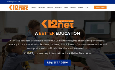 k12net.com screenshot