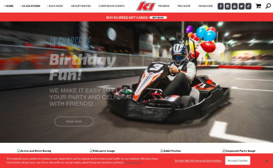 k1speed.com screenshot