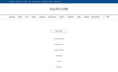 kulfiy.com screenshot