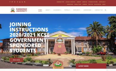 http://kabarak.ac.ke screenshot