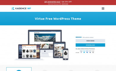 http://kadencethemes.com/product/virtue-free-theme/ screenshot