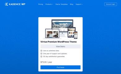 https://www.kadencethemes.com/product/virtue-premium-theme/ screenshot
