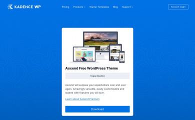 https://www.kadencewp.com/product/ascend-wordpress-theme/ screenshot