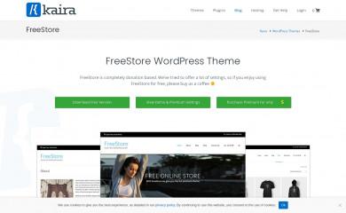 FreeStore screenshot