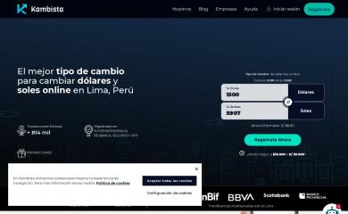 kambista.com screenshot