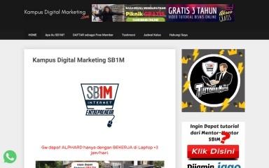 http://kampusdigitalmarketing.com screenshot