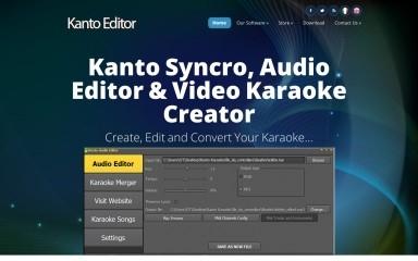 kantoeditor.com screenshot