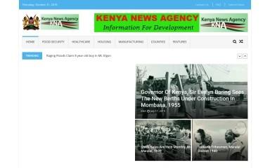 kenyanews.go.ke screenshot