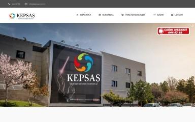 kepsas.com.tr screenshot