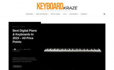 keyboardkraze.com screenshot