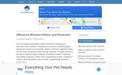 http://keydifferences.com screenshot