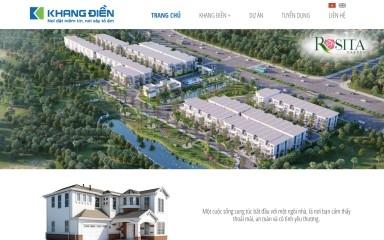 khangdien.com.vn screenshot