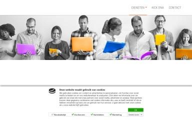 http://kick-reclame.nl screenshot