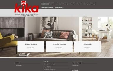 kika-dom.hr screenshot