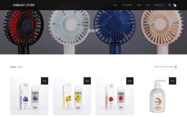 kimkart.store screenshot