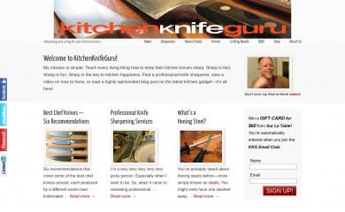 kitchenknifeguru.com screenshot