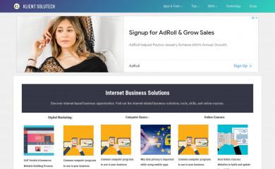 klientsolutech.com screenshot