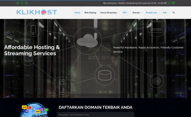 klikhost.com screenshot