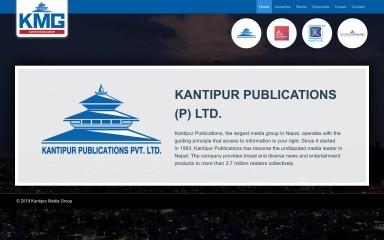 http://kmg.com.np screenshot