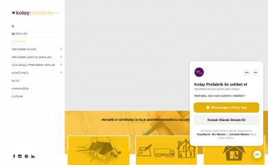 kolayprefabrik.com screenshot