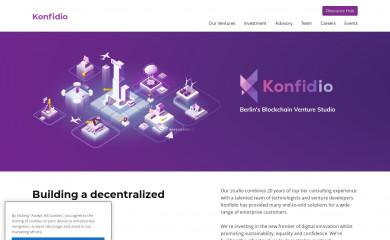 konfidio.com screenshot