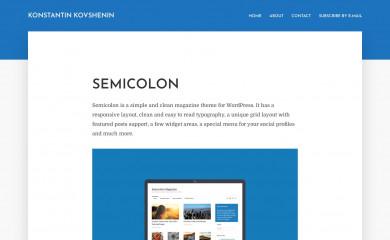 https://konstantin.blog/themes/semicolon/ screenshot