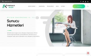 konyaaltibilisim.com screenshot