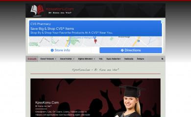 kpsskonu.com screenshot