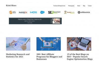 kristihines.com screenshot