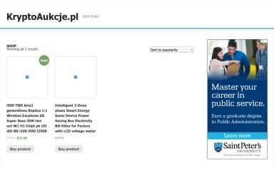 kryptoaukcje.pl screenshot