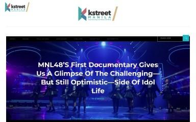 http://kstreetmanila.com screenshot