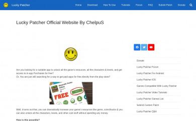luckypatchers.com screenshot