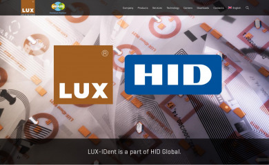 lux-ident.com screenshot