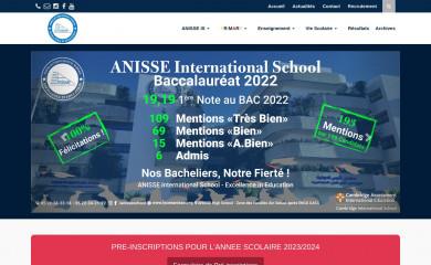 lyceeanisse.org screenshot