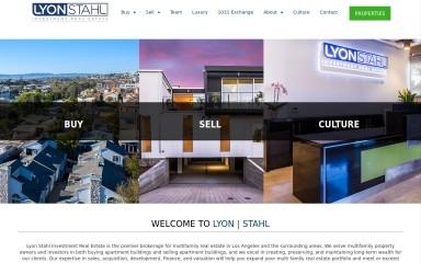 lyonstahl.com screenshot