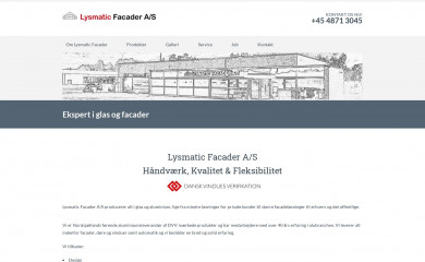 lysmatic.dk screenshot