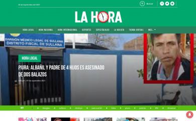 lahora.pe screenshot
